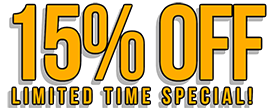 15% Off All Traffic Exchanges!