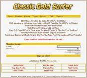 Classic Gold Surfer